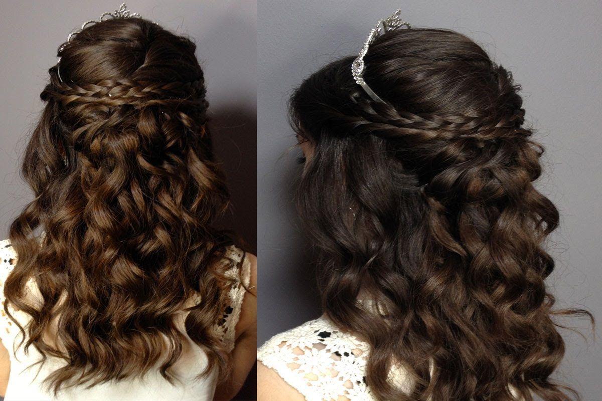 تسريحات شعر للبنات للاعراس