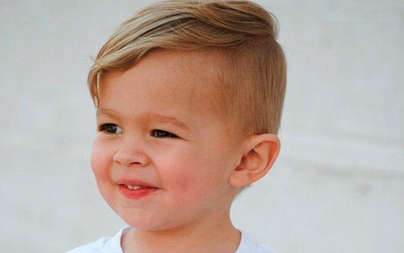 قصات شعر للاولاد الصغار