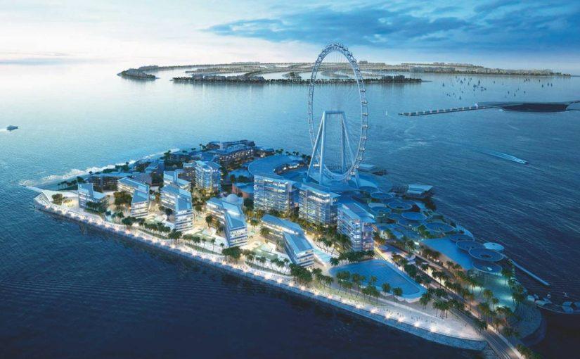 جزيرة بلوواترز في دبي