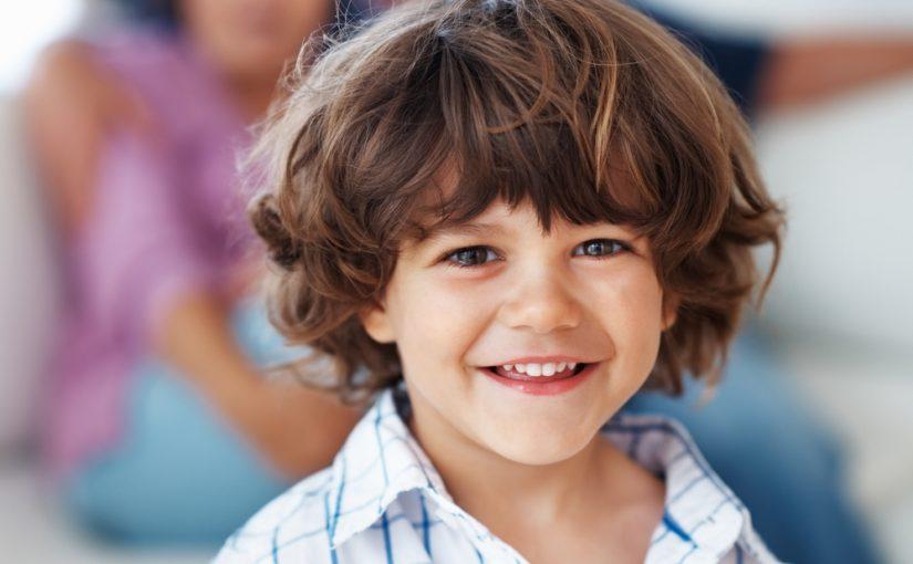 قصات شعر اطفال اولاد