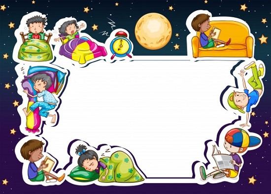 اطارات اطفال للكتابة