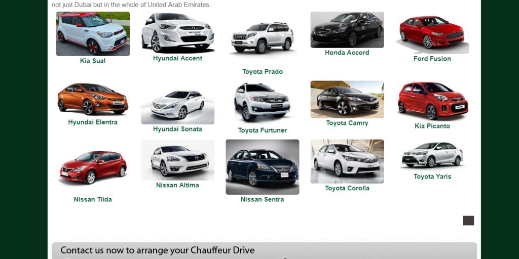 شركات تأجير سيارات في دبي