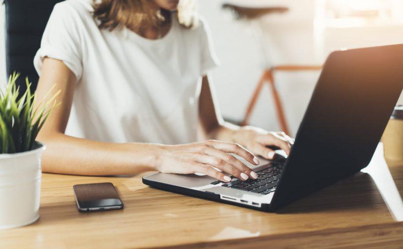 كيفية العمل من المنزل على الانترنت
