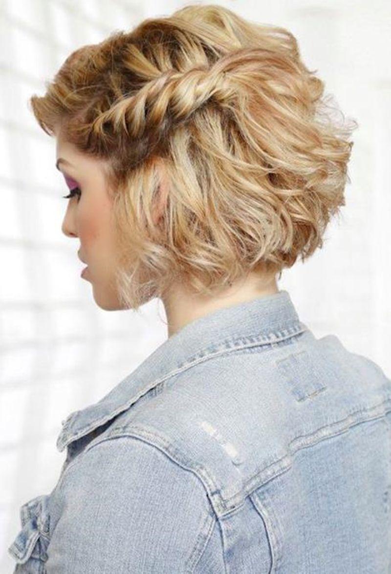 تسريحات شعر قصير