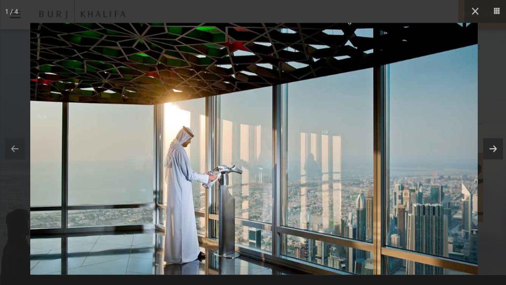 الصعود إلى قمة برج خليفة