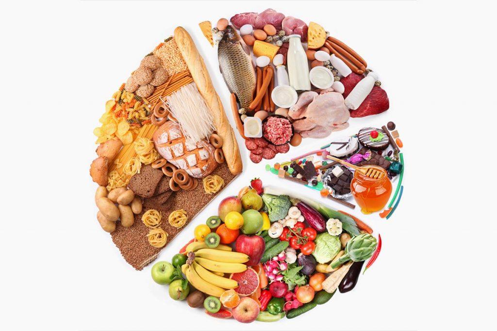حمية صحية متوازنة