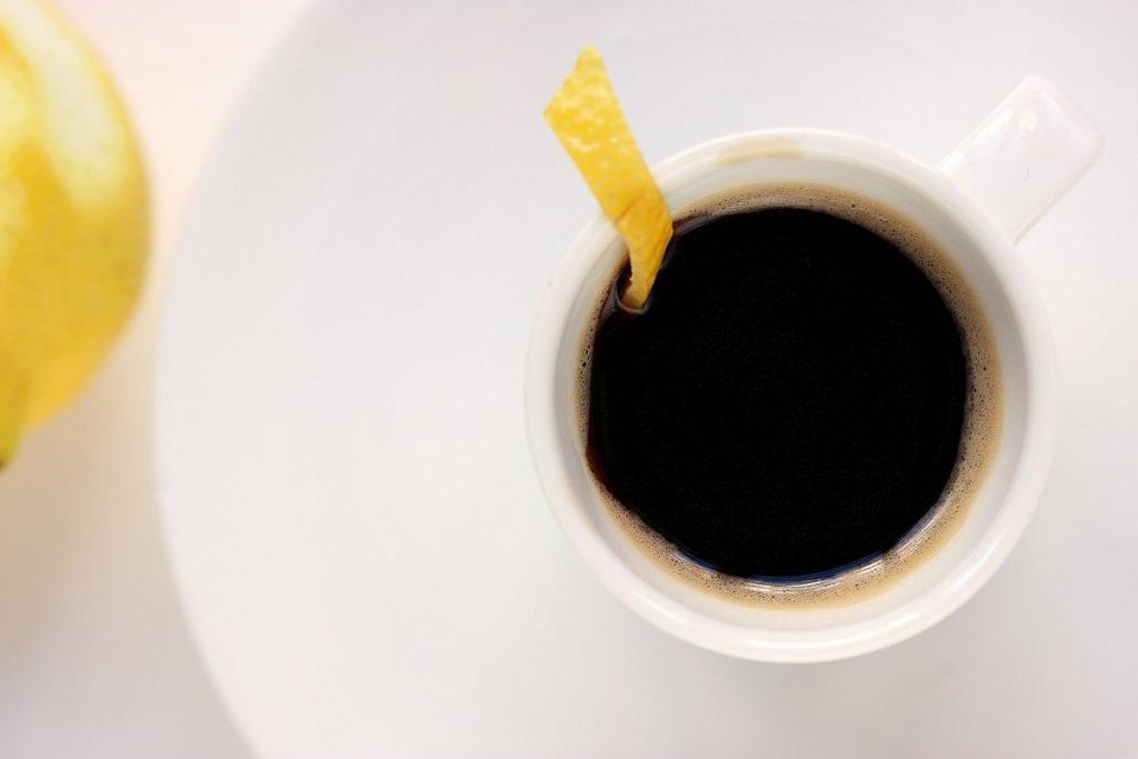 قهوة بالليمون