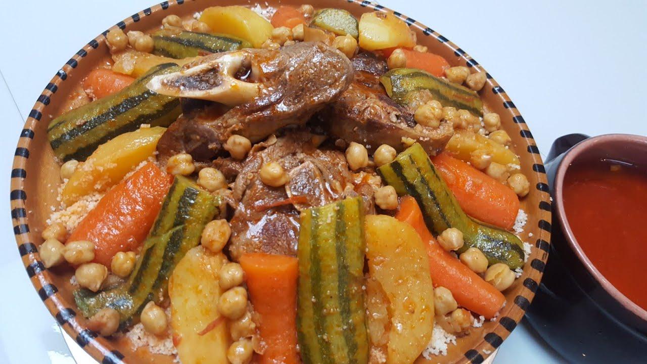 طريقة عمل الكوسكوس المغربي باللحم