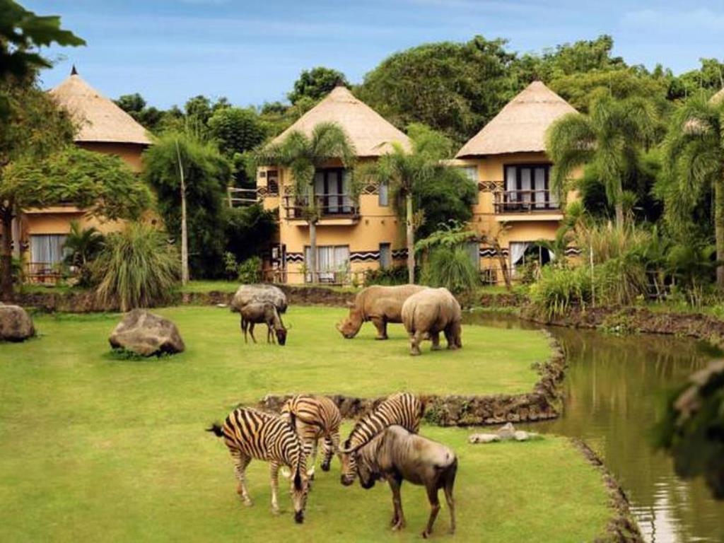 حديقة بالي سفاري Bali Safari and Marine Park