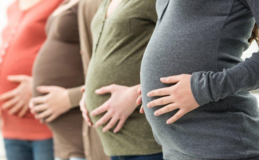متى يكبر بطن الحامل