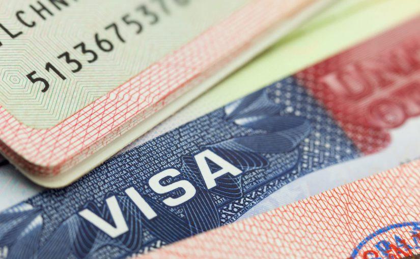 طباعة التأشيرات التي تم إصدارها