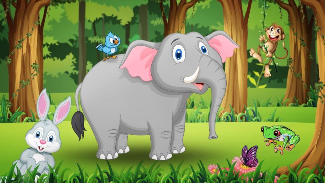 قصة الفيل العجوز