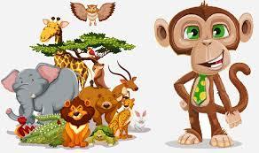 قصة القرد سليط اللسان