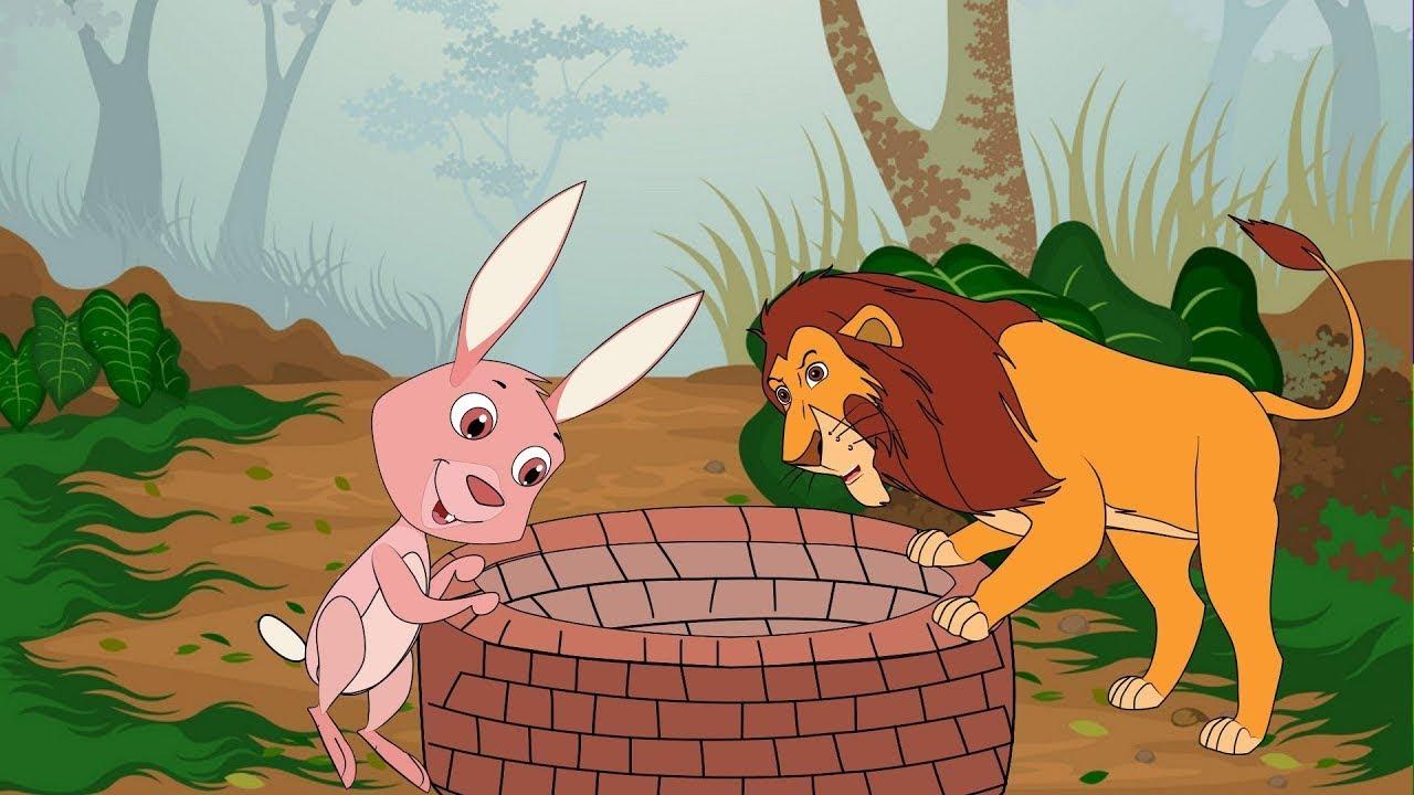 قصة الأرنب والأسد