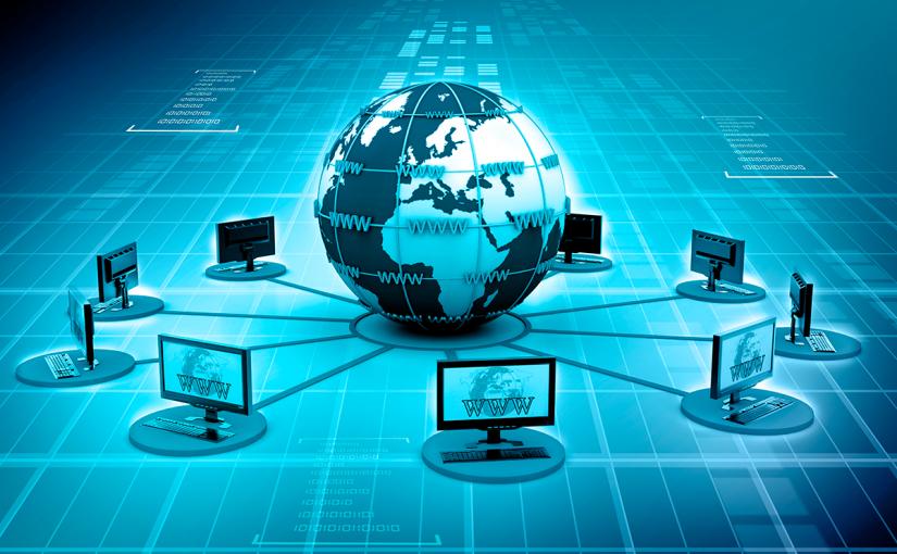 بحث عن الشبكات السلكية واللاسلكية والانترنت