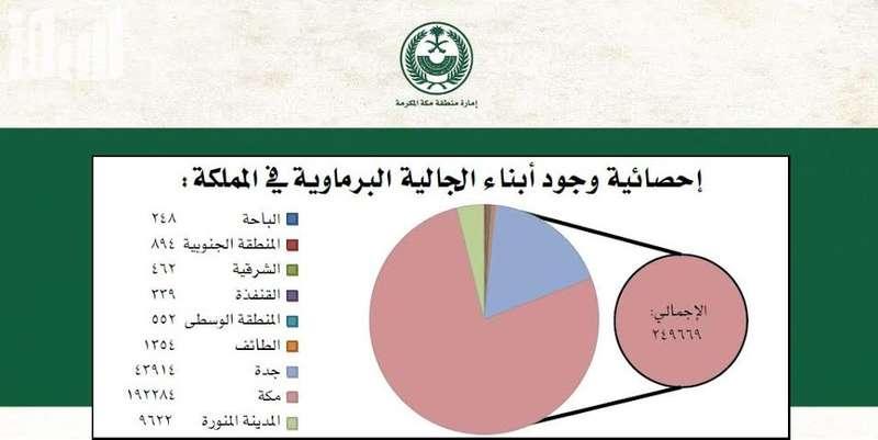 ما عدد البرماويين فى السعودية
