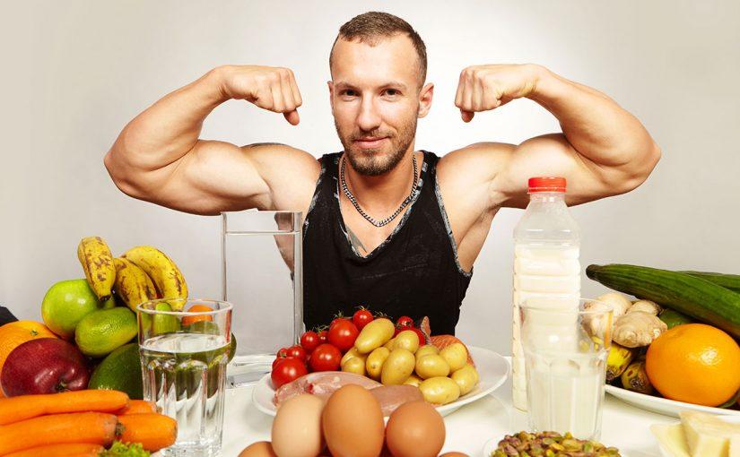 نظام غذائي لبناء العضلات