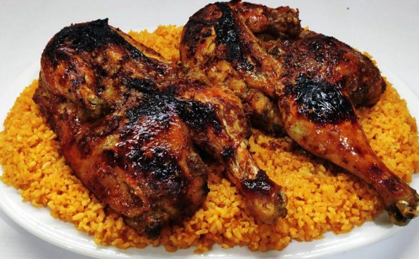 طريقة عمل دجاج مشوي على الفحم زي المطاعم بالصور