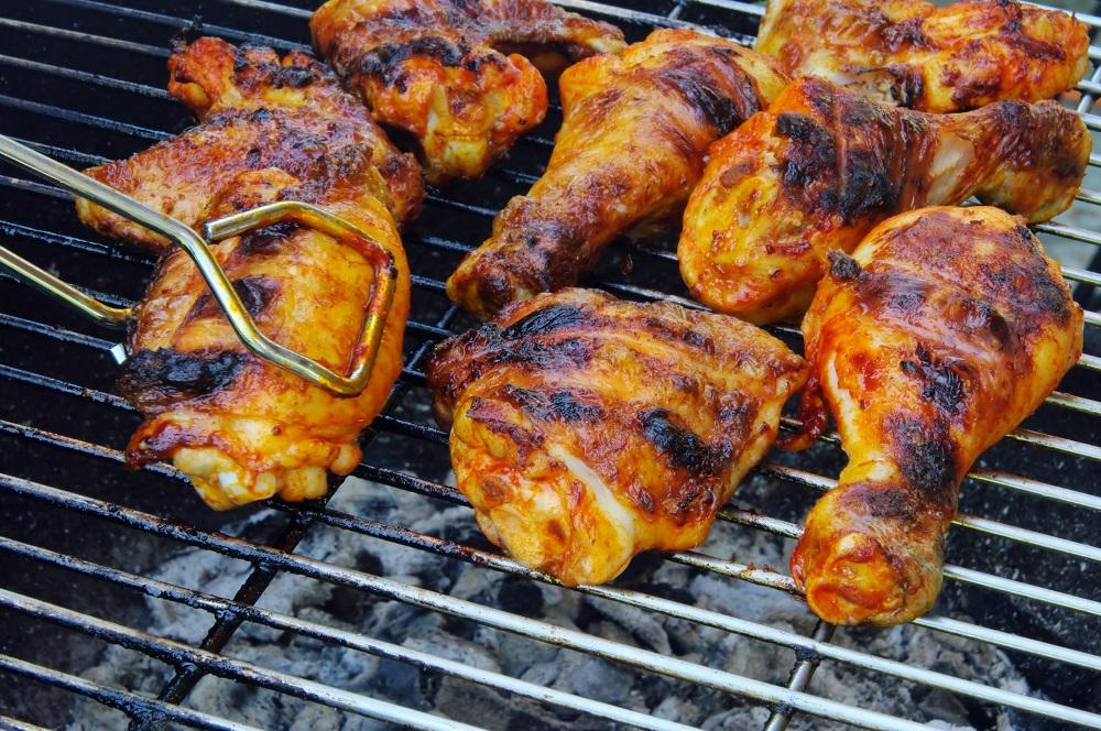 دجاج على الفحم على الطريقة التركية