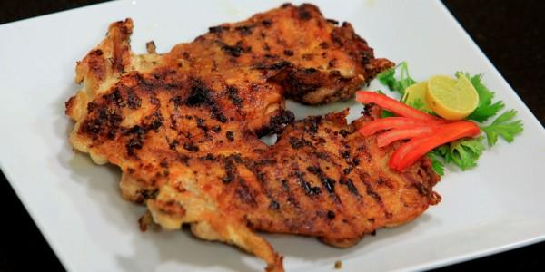 دجاج مشوي على الفحم على الطريقة اللبنانية