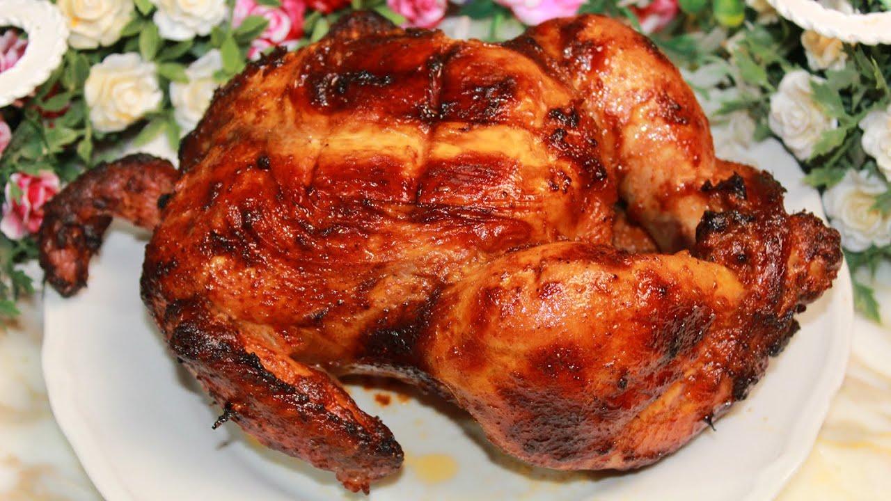 تتبيلة الدجاج المشوي على الفحم منال العالم