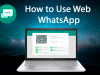 طريقة تطبيق واتساب ويب للكمبيوتر WhatsApp Web للتجسس بعد التحديث 2020