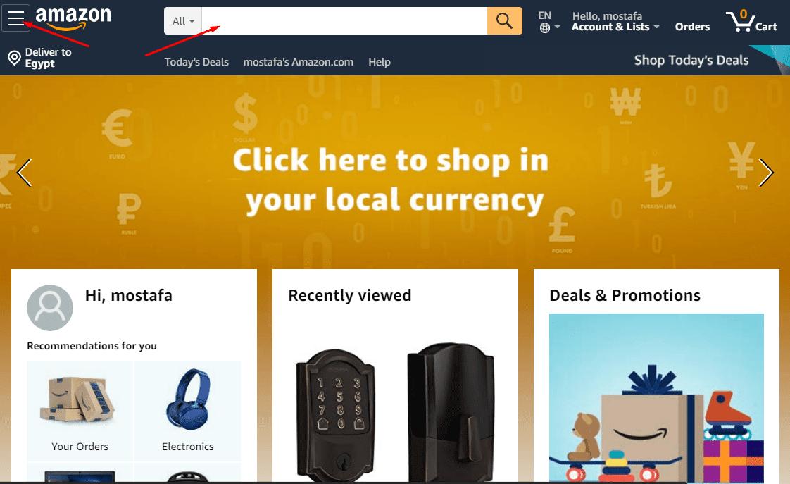 شرح الشراء من موقع امازون السعودية والعروض الجديدة