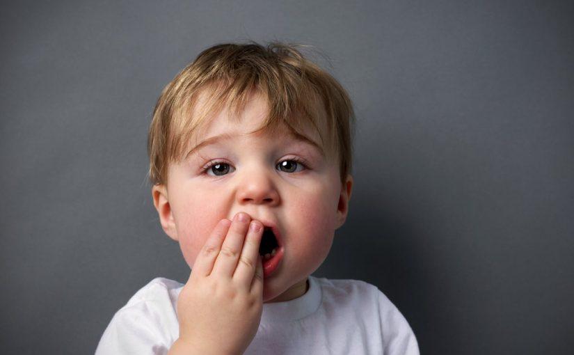 الم الأسنان عند الأطفال