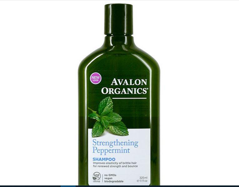 شامبو Avalon Organics Strengthening Peppermint