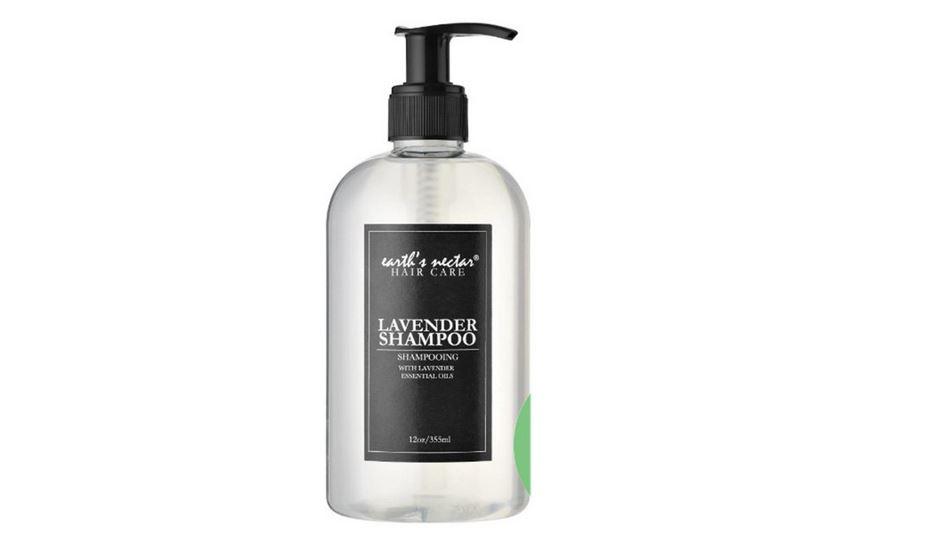 شامبو EARTH'S NECTAR Lavender Shampoo