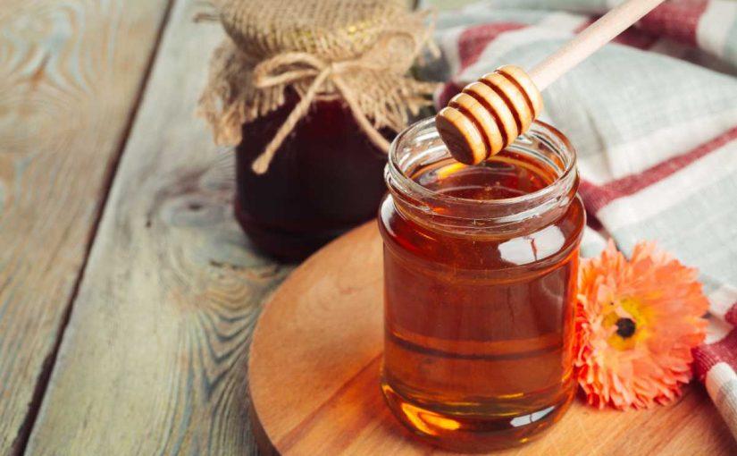 العسل للوجه قبل النوم