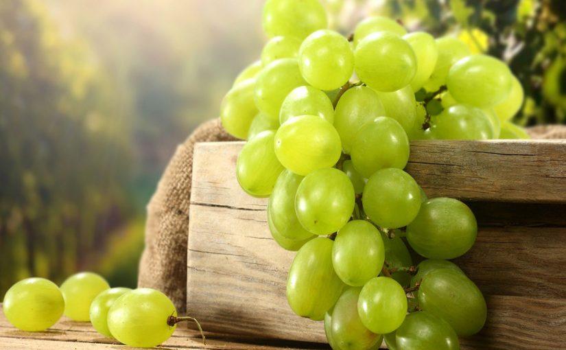 السعرات الحرارية في العنب