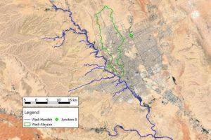 خريطة منطقة الرياض ومحافظاتها