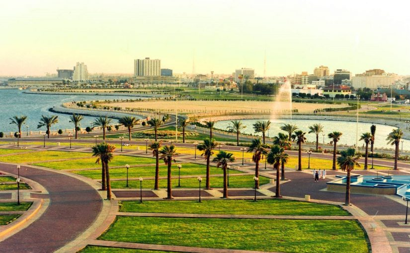 مدينة الدمام في السعودية