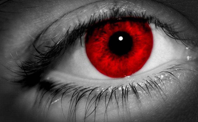 ما هو تفسير العين الحمراء في المنام موسوعة