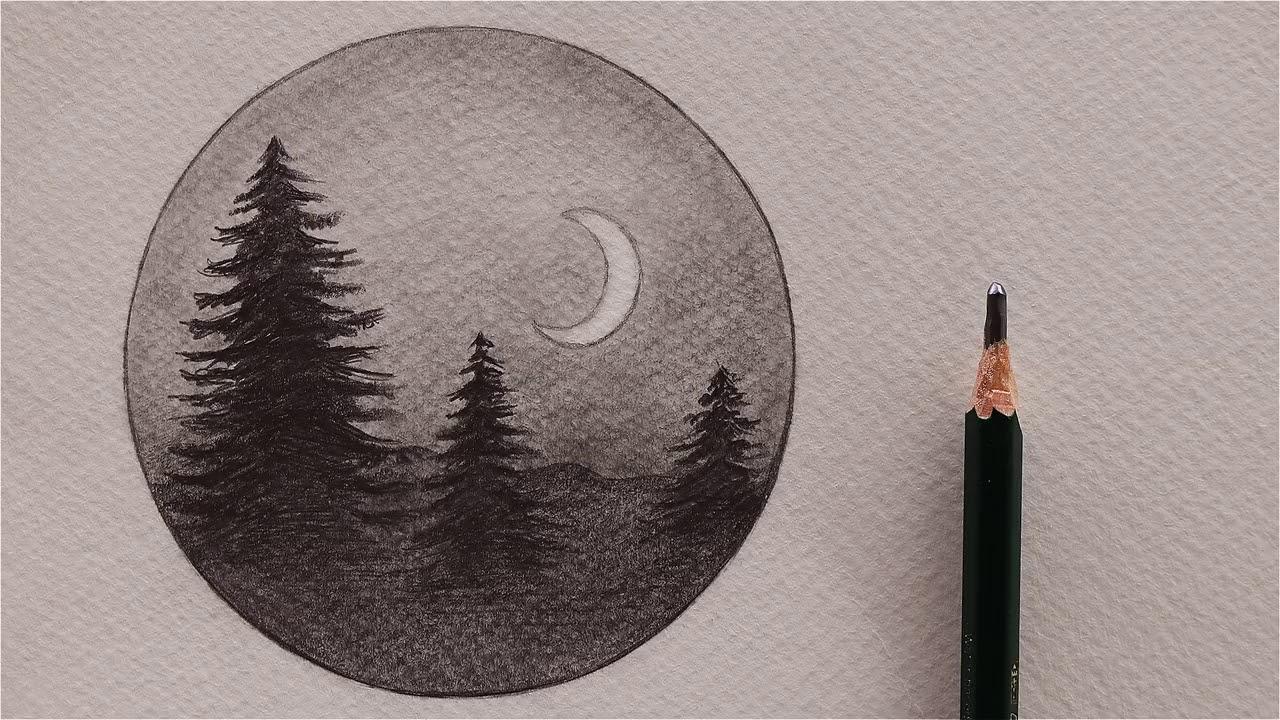 رسومات بالرصاص سهلة خطوات تعليم الرسم بسرعة - كنتوسه رسو%D
