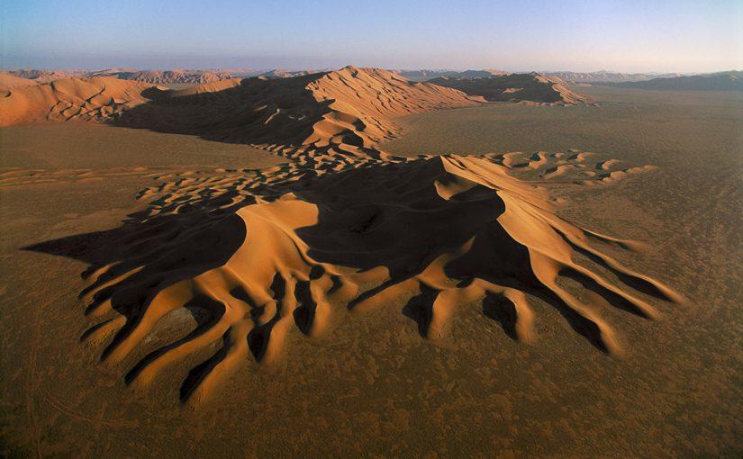 تغطي المناطق الرملية ثلث مساحة المملكة العربية السعودية