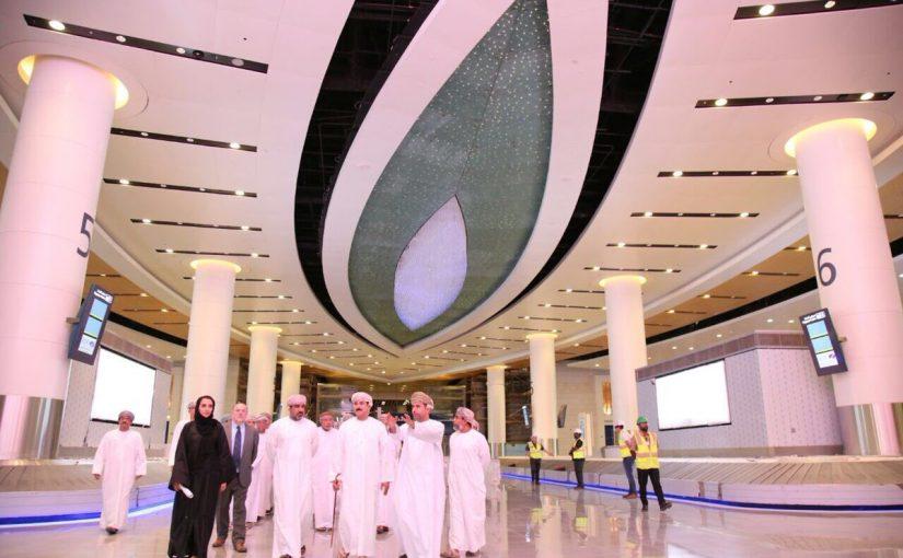 متى تم افتتاح مطار السيب الدولي