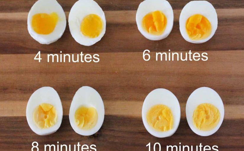 كيف اسوي بيض مسلوق