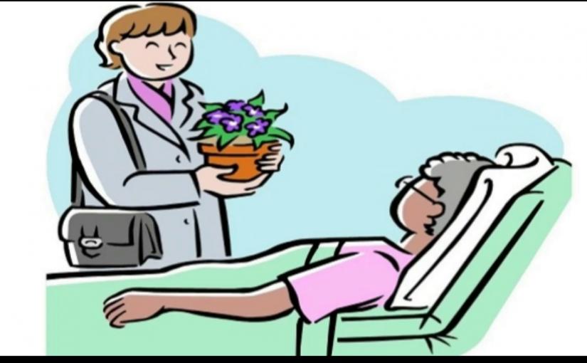 ماذا يقال للمريض اذا شفي من المرض