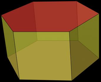 المساحة الكلية لسطح المنشور في الشكل أدناه تساوي 184 ملم2