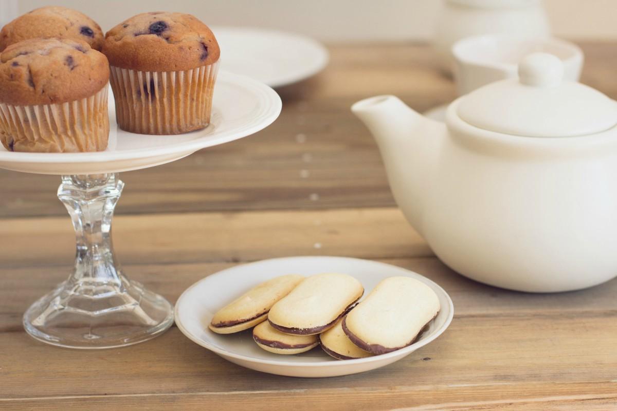 الأصناف المقدمة في حفلات الشاي