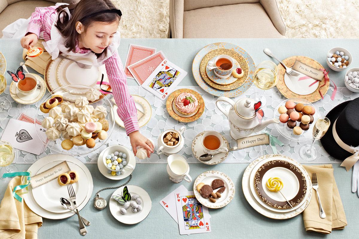 كيف اقيم حفلة شاي للاطفال