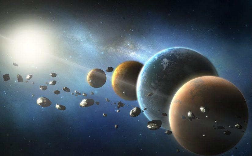 الوحدة المستخدمة لقياس المسافات بين النجوم والمجرات في الفضاء