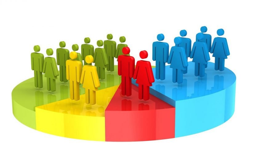 يقصد بالتركيب النوعي للسكان توزيع السكان حسب الاعمار