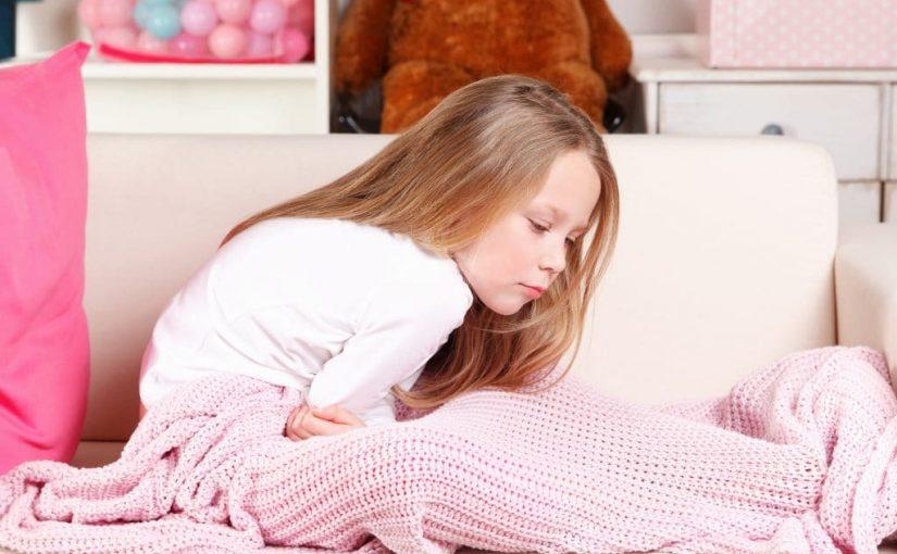 علاج برد المعدة عند الأطفال