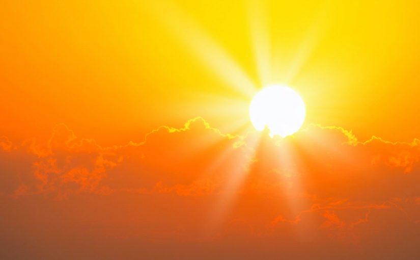 احتجاب ضوء الشمس عن جزء من الارض