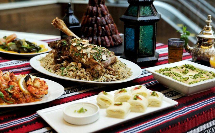 اطباق رمضانية مكتوبة