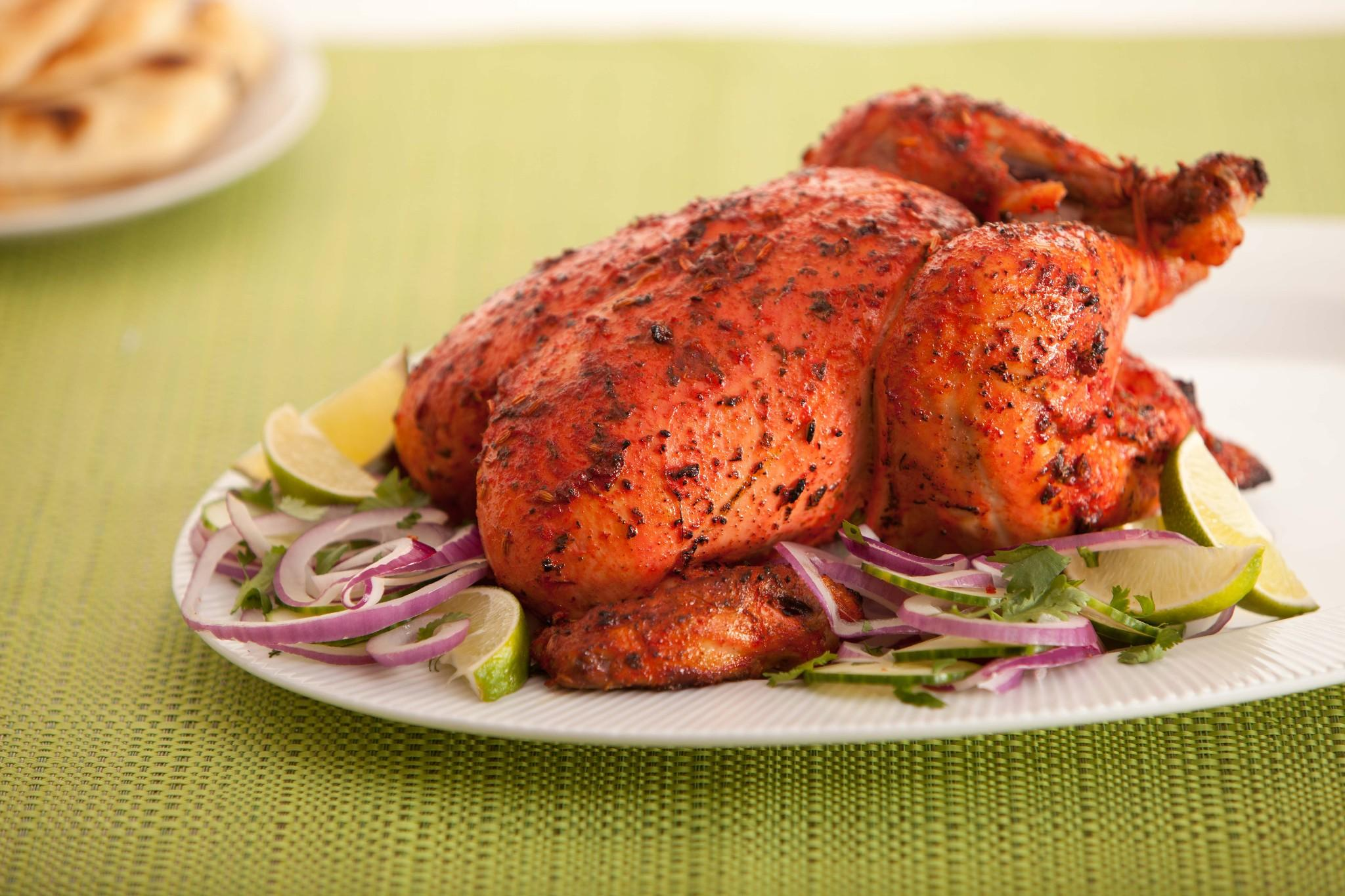 طريقة تحضير الدجاج التندوري