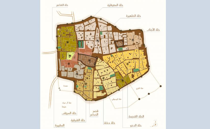 احياء الرياض القديمة